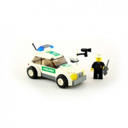 Lego 7236 Police Car, Black...