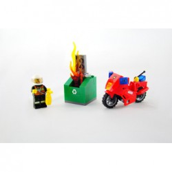 Lego 60000 Fire Motorcycle