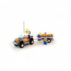 Lego 7737 Coast Guard 4WD &...